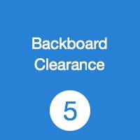 TR05 Backboard Clearance