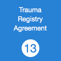 TR13 Trauma Registry Agreement