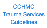 CCHMC Trauma Guidelines