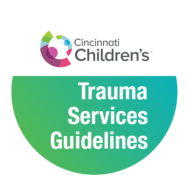 Cincinnati Children's Trauma Services Care Algorithms and Guidelines